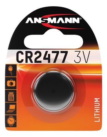 Батарейка CR 2477 ANSMANN 3V (Premium)