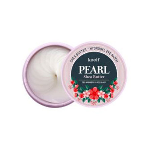 Патчи для глаз koelf Pearl Shea Butter Hydrogel Eye Patch 60 шт.