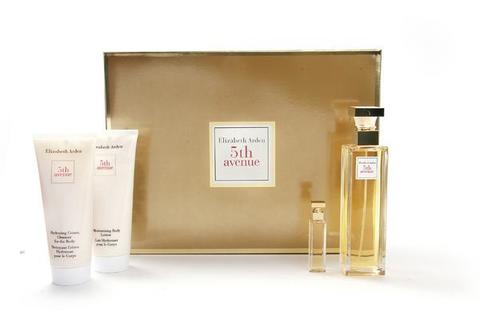 Elizabeth Arden 5th Avenue Set (Edp 75 ml + 3.7 ml + B/L 100 ml + B/C 100 ml)