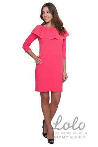 Платье для беременных и кормящих Lo-Lo коралл