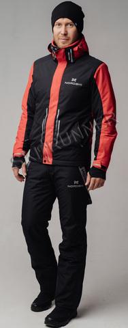 Горнолыжный костюм Nordski Extreme Black-Red мужской
