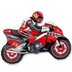 F Мини фигура Мотоцикл (красный) / Motor bike (14