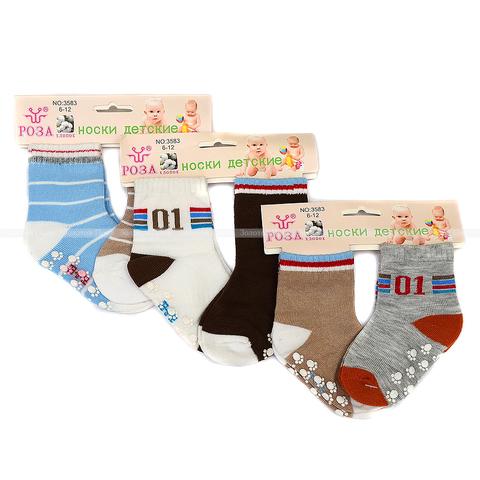 Носочки хлопок с тормозами (0-12) ОФ.6.Р3583