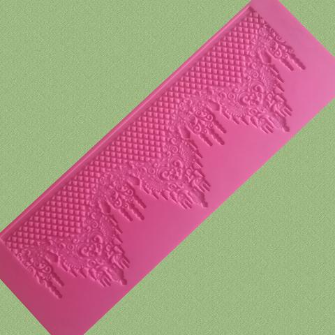 Коврик для айсинга АЙ-786-1, 40х13.5см,, силикон