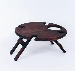 Складной столик для вина, темный, фото 3
