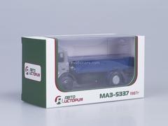 MAZ-5337 board later cabin AutoHistory 1:43