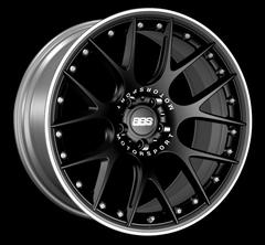 Диск колесный BBS CH-R II 11.5x22 5x130 ET58 CB71.6 satin black