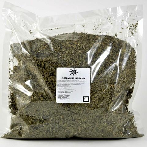 Петрушка зелень сушеная резаная, 500г