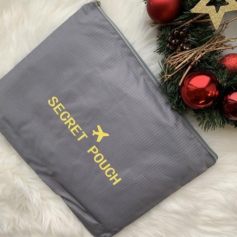 Органайзер для путешествий Secret pouch 6 штук /серый/