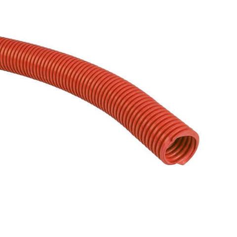 Труба гофрированная STOUT - 18 (наружный диаметр 20 мм, цвет красный, бухта 50м.)