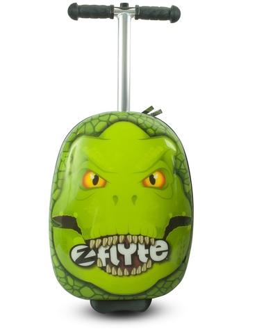Самокат-чемодан Динозавр, Zinc