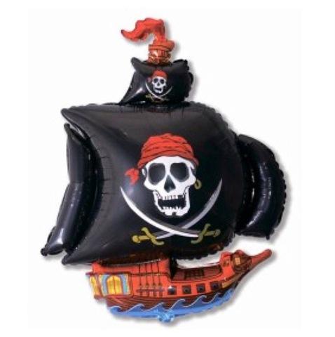 Фольгированный шар «Пиратский корабль» #148853