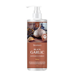 Deoproce Rinse-Black Garlic Intensive Energy - Бальзам для волос чёрный чеснок