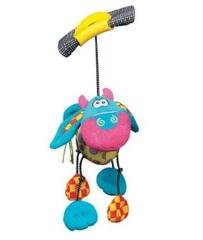 Playgro Мягкая игрушка-погремушка Дингли-Дангли Корова (0111868 -1)
