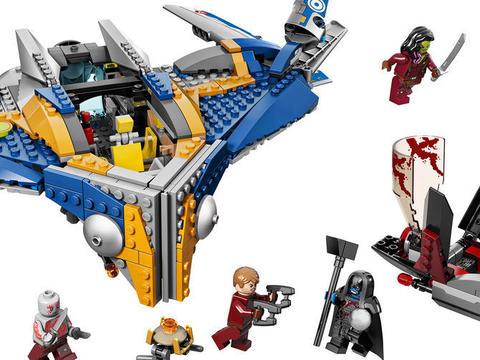 LEGO Super Heroes: Спасение космического корабля Милано 76021 — The Milano Spaceship Rescue — Лего Супергерои Marvel Марвел DC Comics комиксы