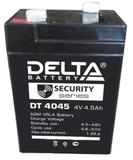 Аккумулятор Delta DT 4045 ( 4V 4,5Ah / 4В 4,5Ач ) - фотография