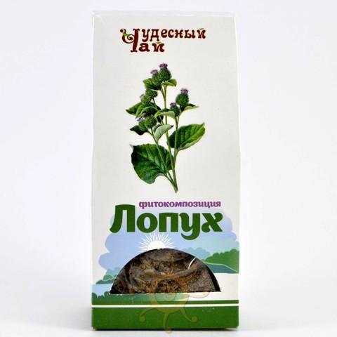 Лопух корень сушеный Чудесный чай, 50г
