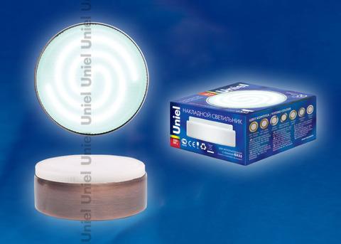 GX53/FT Античная медь. Светильник накладной. Картонная упаковка.