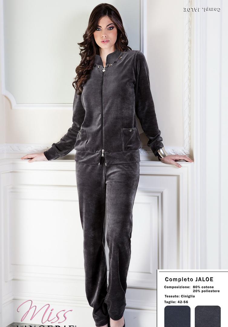 Женский велюровый костюм DiBen