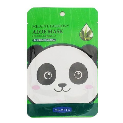MILATTE Маска тканевая с экстрактом алое MILATTE FASHIONY ALOE MASK SHEET