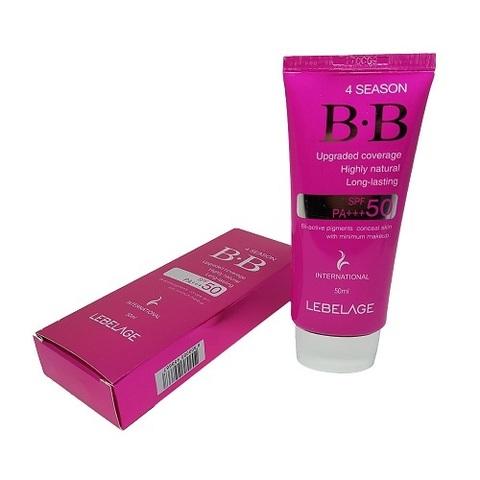 BB крем солнцезащитный SPF50 PA+++ Lebelage 4 Season BB Cream 50мл
