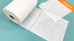 Салфетки (Спанлейс, белый, 30х40 см, 100 шт/упк, рулон с перфорацией)