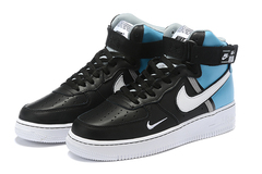 Nike Air Force 1 07 LV8 High 'Black/Blue'