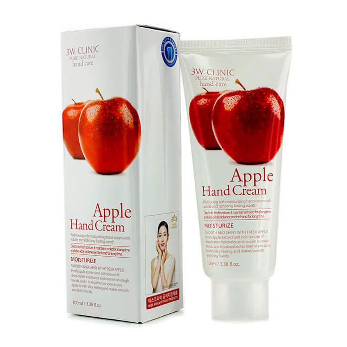 Для рук и ногтей Крем для рук 3W CLINIC увлажняющий с экстрактом ЯБЛОКА Apple Hand Cream 100 мл 15073.750x0.jpg