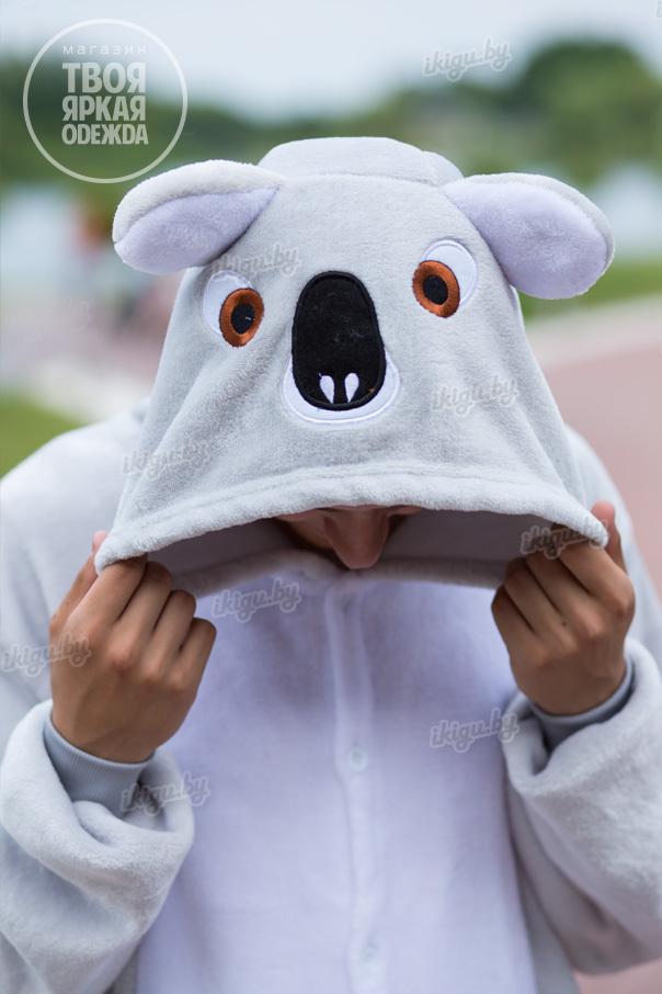 Пижамы кигуруми Коала коала-серая-3.jpg