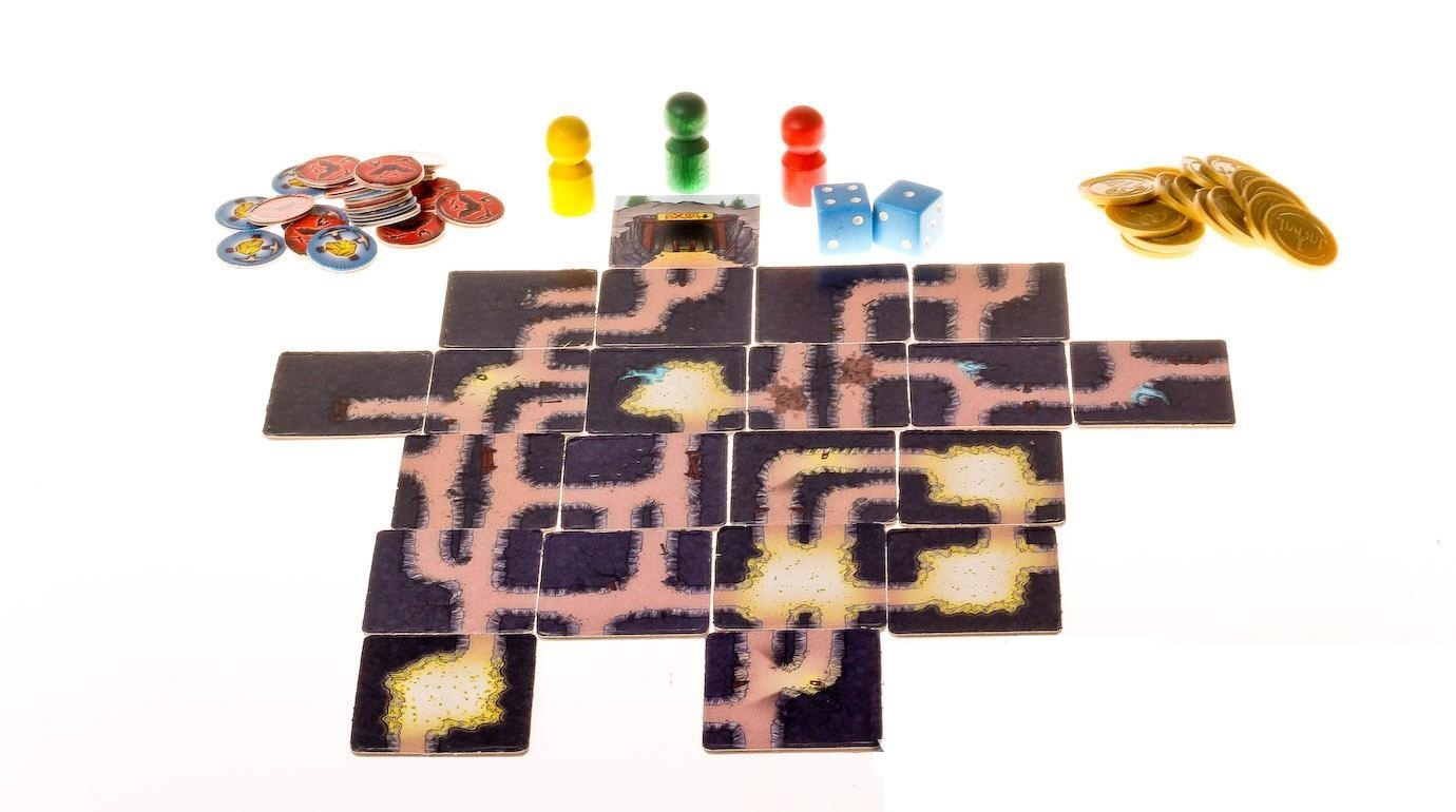 Настольная игра Шакал Подземелье (Jackal: The Dungeon)