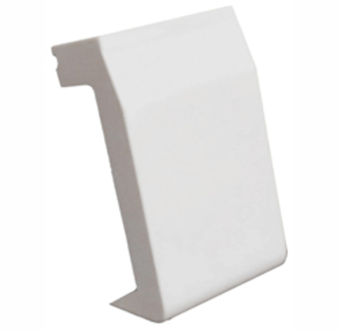 ASMP12 Переходник для коробки SMP,SM,SD к мини-каналу 20/12,5. Цвет Белый. Ecoplast (ЭКОПЛАСТ). 72925
