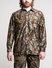 Рубашка охота защитной расцветки