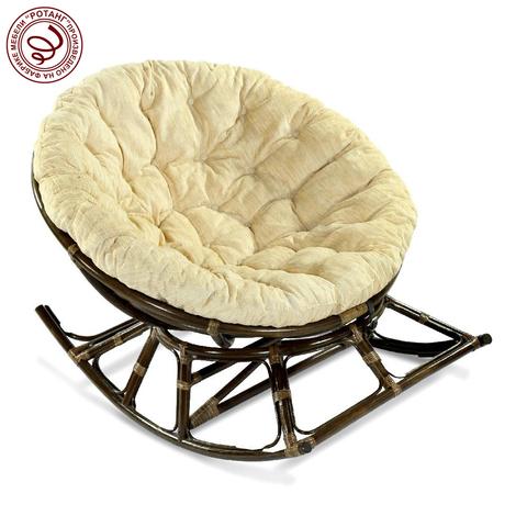 Кресло-качалка PAPASAN, Feather (подушка рогожка)