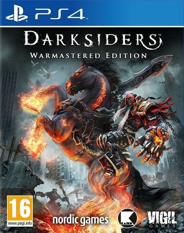 PS4 Darksiders - Warmastered Edition (русские субтитры)