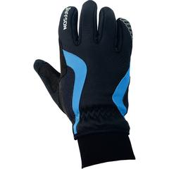 Велоперчатки JAFFSON WCG 43-0476 (чёрный/синий)