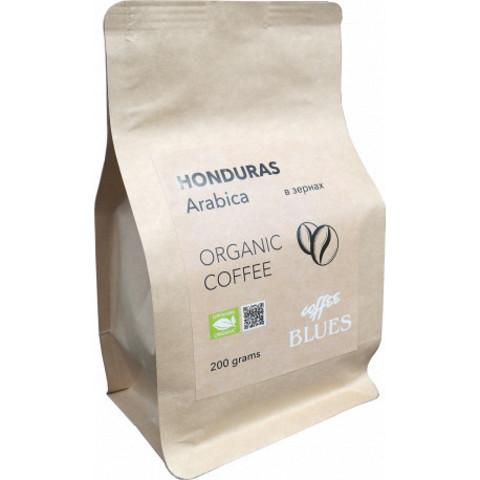 Blues Coffee, кофе органический в зернах, Honduras Organic, 200 гр