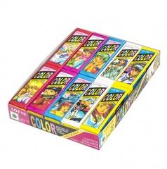 Жевательная резинка КОРЕЯ Колор (Color) Lotte, пластинки, 12,5 гр