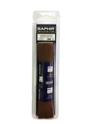 Шнурки Плоские   120см. ширина 10 мм  (4 цвета)  SAPHIR