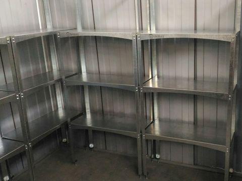 Комплект полок для металлического сарая