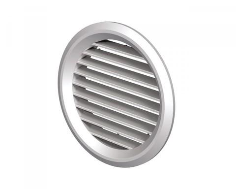 Решетка круглая МВ 80/2, белая