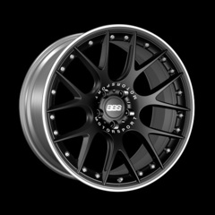 Диск колесный BBS CH-R II 9x21 5x108 ET45 CB70.0 satin black