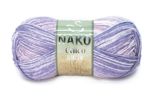 Пряжа Nako Calico Jakar арт. 31596