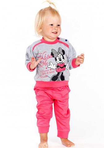 Домашний костюмчик для малышки с Minnie Mouse