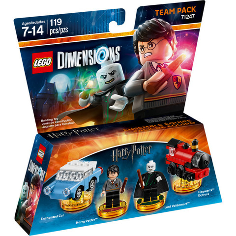 LEGO Dimensions: Team Pack: Гарри Поттер и Волан-де-Морт 71247 — Harry Potter Team Pack — Лего Измерения