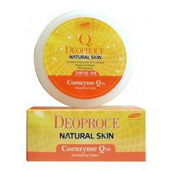 Deoproce Natural Skin Coenzyme Q10 Nourishing Cream - Крем для лица и тела с коэнзимом