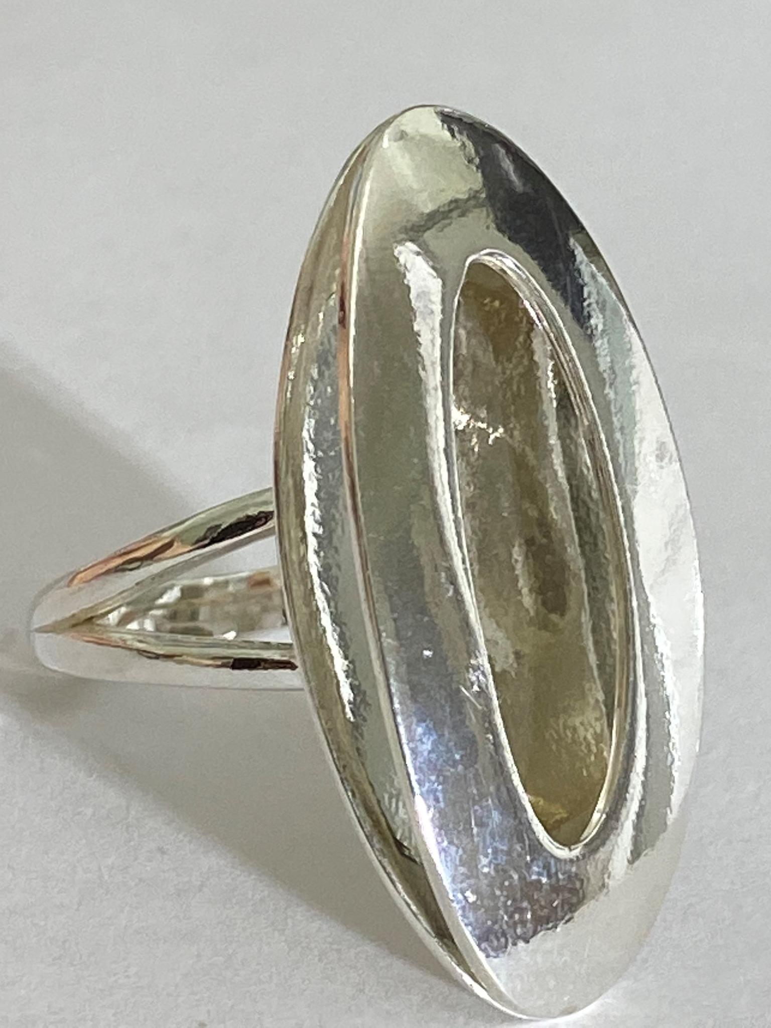 Аманда (кольцо из серебра)