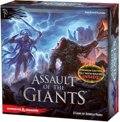 D&D – Assault of the Giants Board Game (Premium Edition)