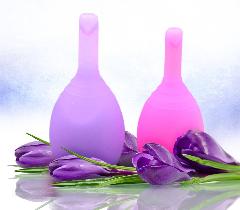 Набор менструальных чаш VIOLA с клапаном