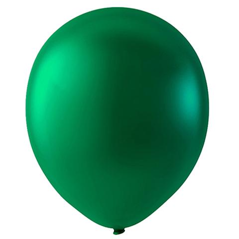 Шар Темно-зеленый Металлик, 30 см