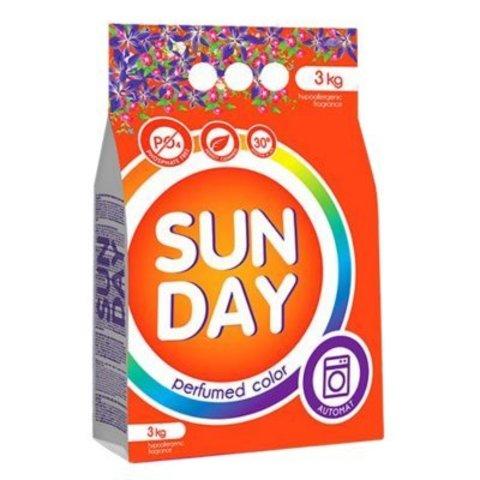 Сонца Sunday Стиральный порошок для цветного белья Perfumed  Автомат  3 кг